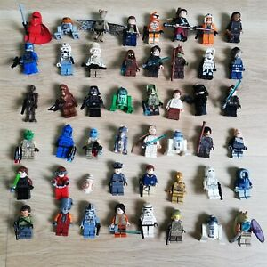 LEGO-STAR-WARS-MINIFIGURES-X5-PER-PACK-LUCKY-DIP-COMMON-ALL-ERAS-amp-CHARACTERS
