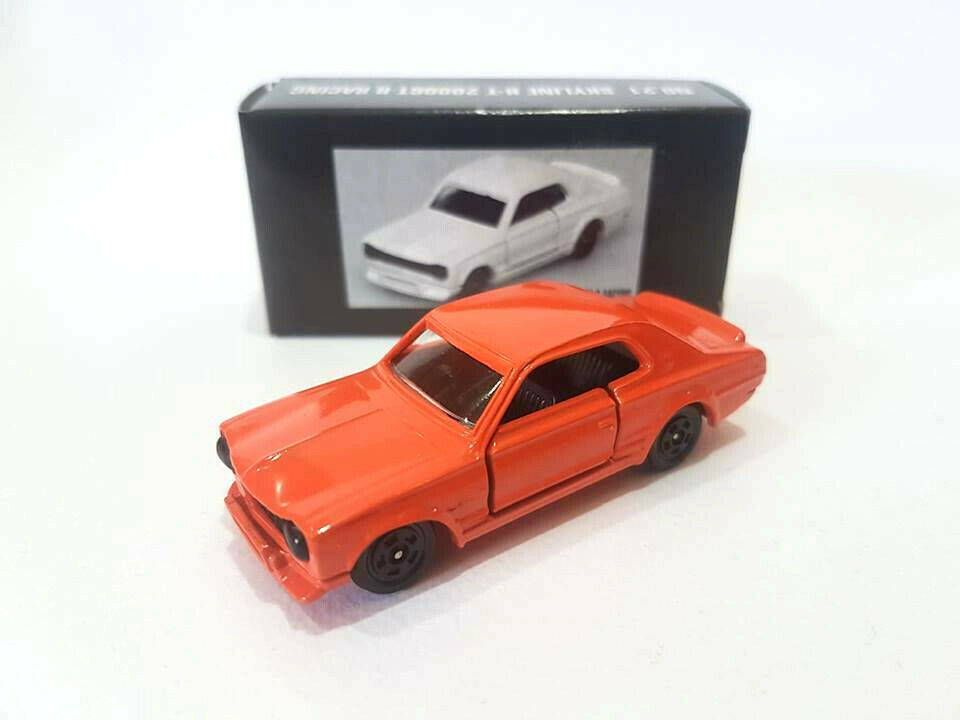 Tomica Tomy NO.21 NISSAN SKYLINE H-T 2000GT-R RACING MADE IN JAPAN  1 62