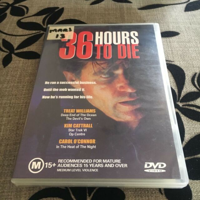 36 HOURS TO DIE DVD