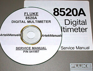 fluke 8520a digital multimeter operating service manual ebay rh ebay com Service ManualsOnline Service Station