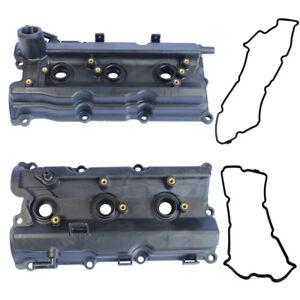 New-Left-amp-Right-Engine-Valve-Covers-for-2003-06-Nissan-350Z-03-06-G35-V6-3-5L
