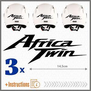 3X CRF 1000 L BLU RIFRANGENTE AFRICA TWIN HONDA 16 ADESIVI CRF1000 L CRF1000L