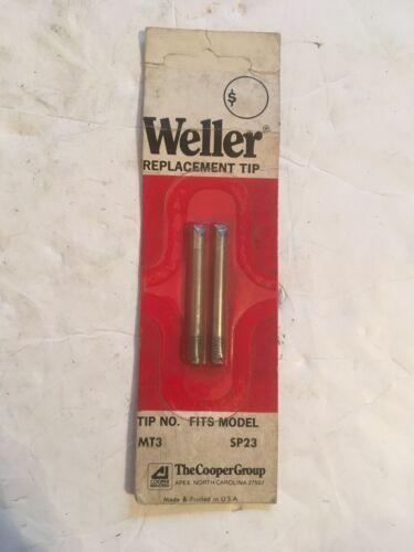 Weller Tips #MT3 Fits SP23 2 Pack R3#41