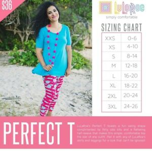 LuLaRoe-Perfect-T-Mystery-All-Sizes-available-XXS-XS-S-M-NEW-NWT