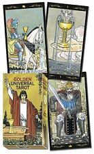 Golden Universal Tarot Deck by Lo Scarabeo (2013, Cards,Flash Cards)