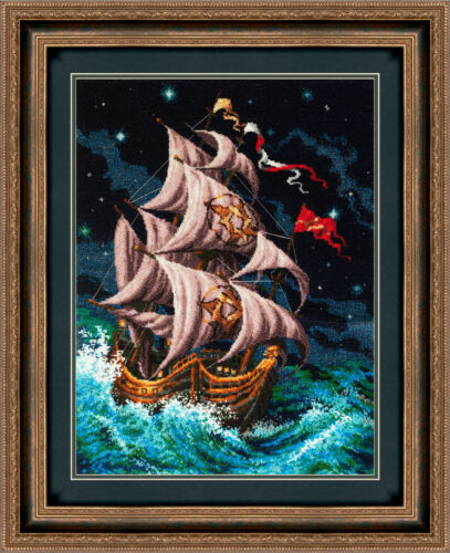 """/""""Follow the dream/"""" Bead Embroidery kit GOLDEN HANDS TM-002"""