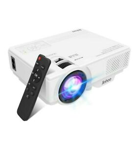 2020 Newest, Jinhoo Mini Overhead Projector Full HD 1080P Supported