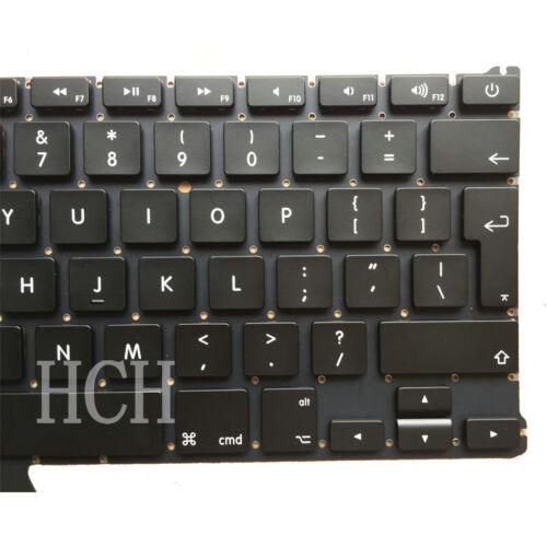 "New Apple Macbook Air A1369 A1466 13.3/"" UK Layout Keyboard 2011-2014 Backlight"