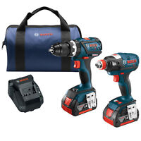 Bosch CLPK251-181 18-Volt 2-Tool Impact Driver and Hammer Drill Combo Kit