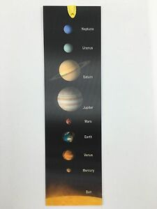 Planets Of Our Solar System 3D Bookmark Authentic Art ...