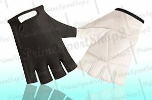 GEL PADDED LEATHER GYM GLOVES FITNESS CYCLING WEIGHT LIFTING SPORTS WHEELCHAIR