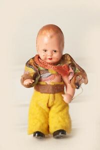 Edi-Germany-Small-Old-Doll-Child-Ca-3in-60801