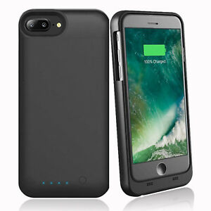 buy popular f4d18 396f5 Details about Apple iPhone 7 / 8 Plus Smart Battery Case Rechargeable -  Apple MFI Certified