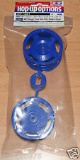 Tamiya 54681 4WD Buggy Front Star-Dish Wheels (Blue) (Top Force/DF02/*53089) NIP