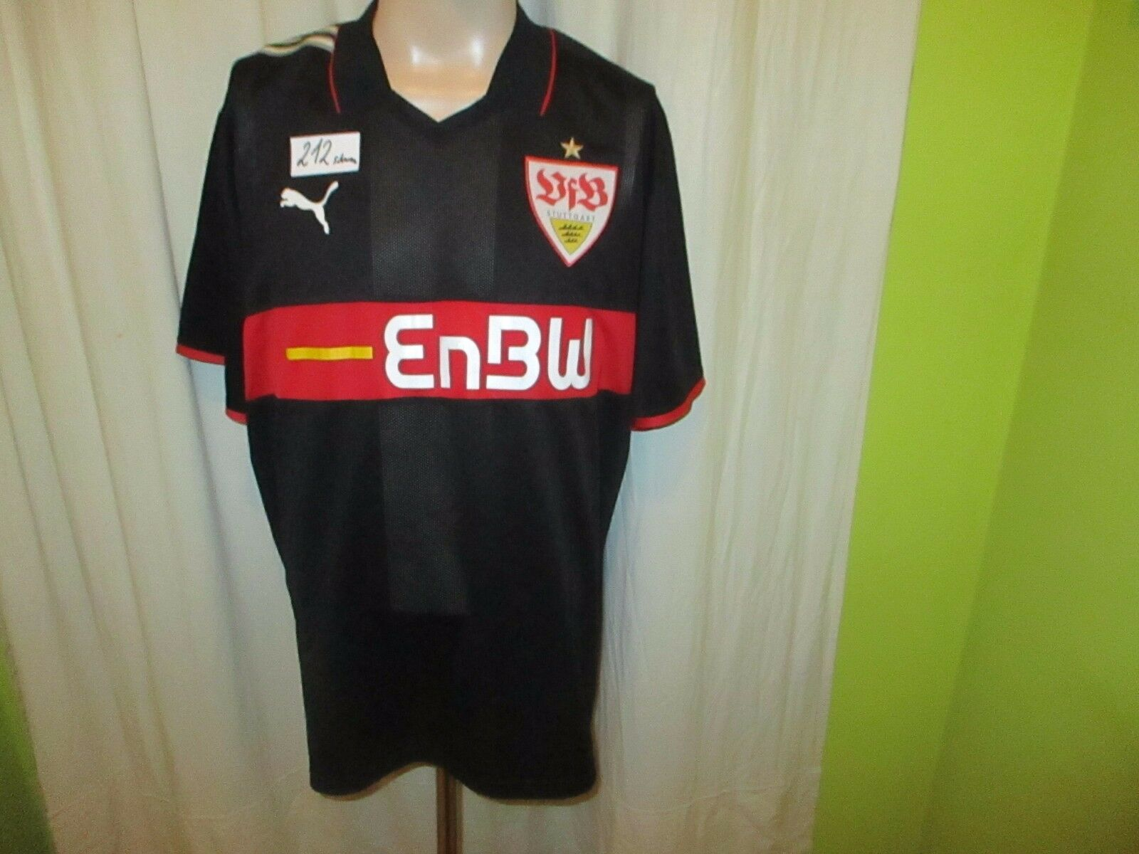 VfB Stuttgart Original Puma Ausweich Trikot 2009 10  EnBW  Gr.XXXL TOP  | Neuer Eintrag