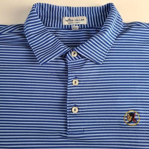 Seminole Golf Club Peter Millar Men's Blue Striped
