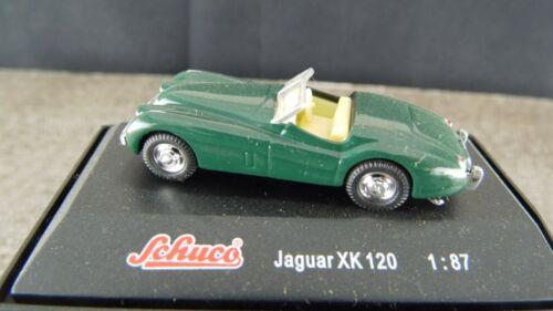 Schuco Karmann Ghia Coupé Jaguar XK 120 E-Type 1961 1:87 sch36-40