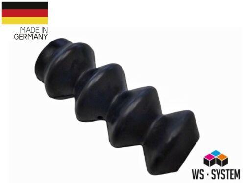 2 Stück Universal Faltenbalg Manschette Anhänger Boot L 96mm-30m Ø 34mm