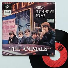 """Vinyle 45T The Animals  """"Bring it on home to me"""""""