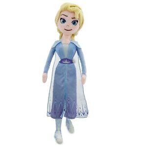 Disney-Frozen-2-Elsa-Medio-Muneco-de-Peluche-Muneca-47cm
