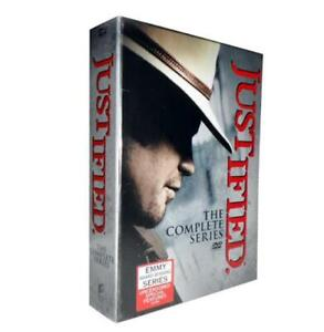 JUSTIFIED-The-Complete-Series-Seasons-1-6-NEW-DVD-Box-Set-New