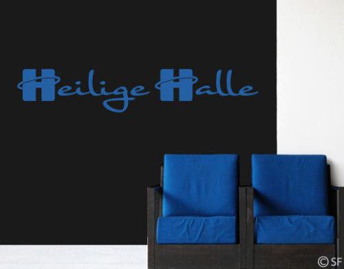 Wandtattoo Heilige Halle Sprüche Wohnzimmer Schlafzimmer Flur Küche Bad uss359