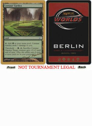 Dave Humpherys - 2003 Centaur Garden World Championship PLD CARD ABUGames