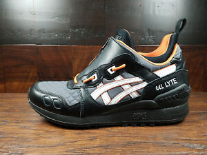 8c577460973 ASICS GEL-LYTE MT ZIP (Black White Orange) (1191A143-001) Bomber Men ...