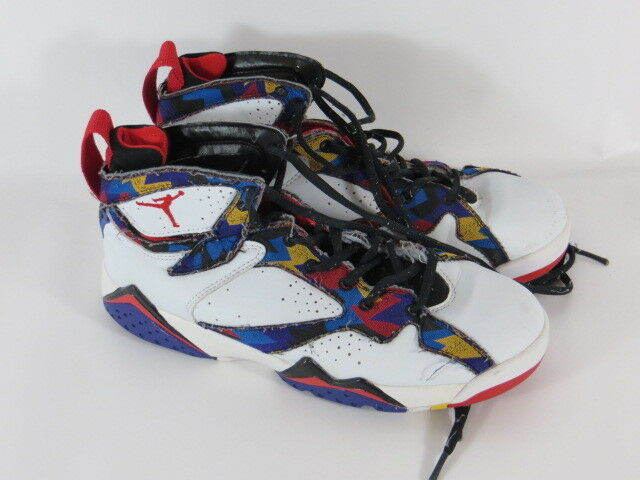 Nike Air Air Nike Jordan 7 Retro BG Sweater (weiss/multi) 304774-142 Mega Rar Größe 39 783830