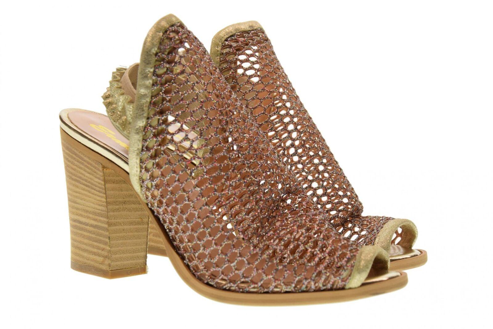 Erman's Frauen Sandale Schuhe 145 ORO P18g