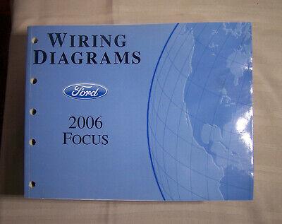 2006 ford focus wiring diagram oem factory manual  ebay