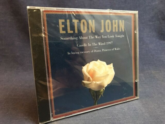 ELTON JOHN PRINCESS DIANA MEMORIAL CD Di Candle in the Wind 1997 Tribute NEW