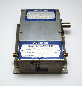 Avantek GaAs FET amplifier sd7-1443m, HF-amplificador-módulo, 8.5... 9.6 GHz  </span>