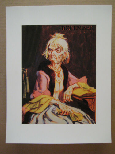 """Poster 8.5/"""" x 11/"""" Disney Haunted Mansion Changing Portrait Painting 4"""