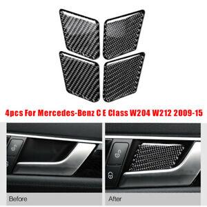 For-Mercedes-Benz-C-E-Classe-W204-W212-2009-15-Adesivo-Auto-Ciotola-Nero-Cover