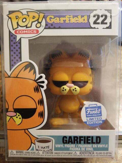 Funko Pop Comics Garfield I Hate Mondays 22 Limited Edition Ebay