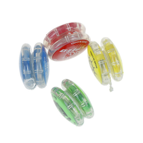 1Pc Magic YoYo ball toys for kids colorful plastic yo-yo toy party gift Fad FS