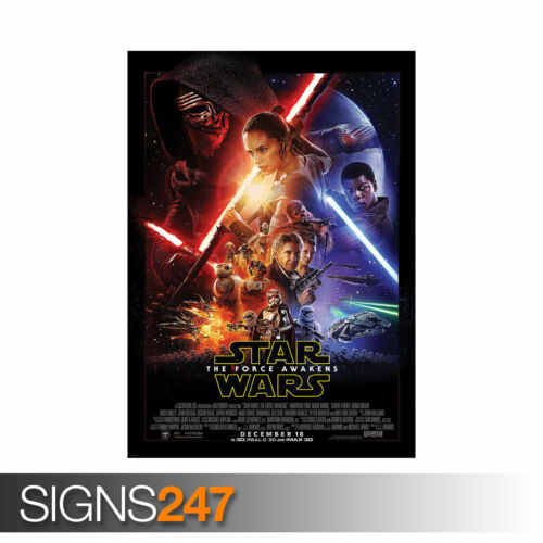 STAR WARS THE FORCE AWAKENS FILM Picture Poster Print Art A0 A1 A2 A3 A4 1046