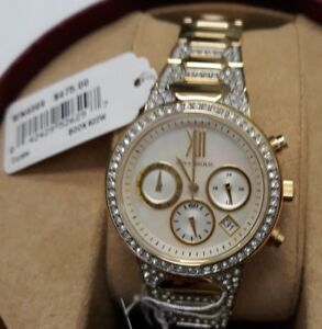 Wittnauer-WN4069-Gold-Crystal-Chronograph