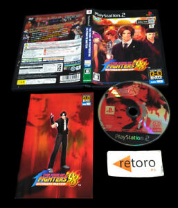 THE-KING-OF-FIGHTERS-98-ULTIMATE-MATCH-PS2-PLAYSTATION-2-Jap-SNK-KOF-039-98