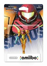 Samus No.7 Figure Amiibo Super Smash Bros Collection Nintendo Wii U/3DS New