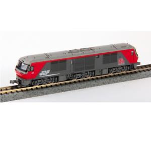 Kato 7007-2 Diesel Locomotive DF200-50 Eco-Power rosso Bear - N