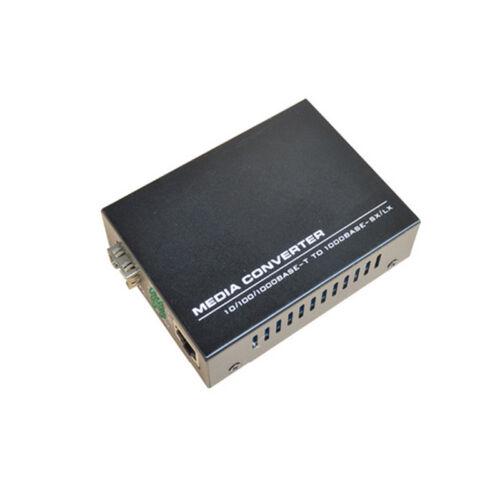 SFP 100//1000M Fast Ethernet Media Converter Dual Fiber Single mode 20Km 1PCS
