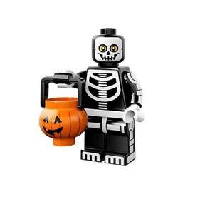 Lego-Minifigura-Serie-14-71010-Halloween-Monstruos-Esqueleto-Guy