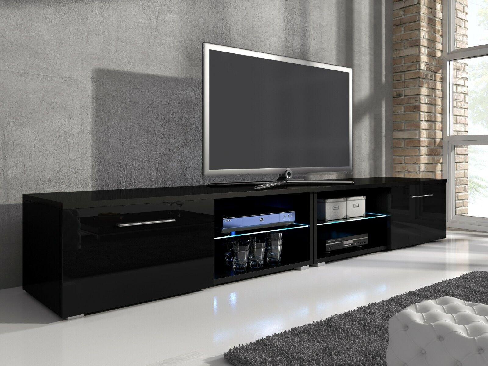 TV Unit Cabinet Stand Entertainment Lowboard Samuel with UK UK UK LED 398406