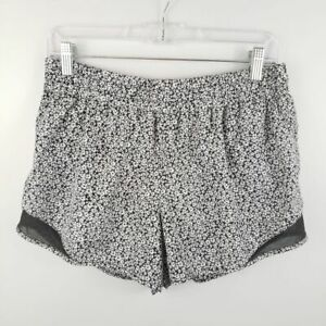 RBX-Athletic-Running-Shorts-Black-and-White-Floral