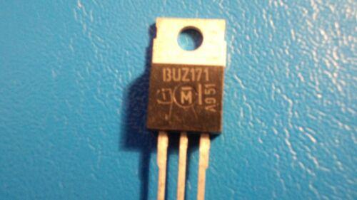 Motorola BUZ171P Channel Transistor de puissance Qty = 1