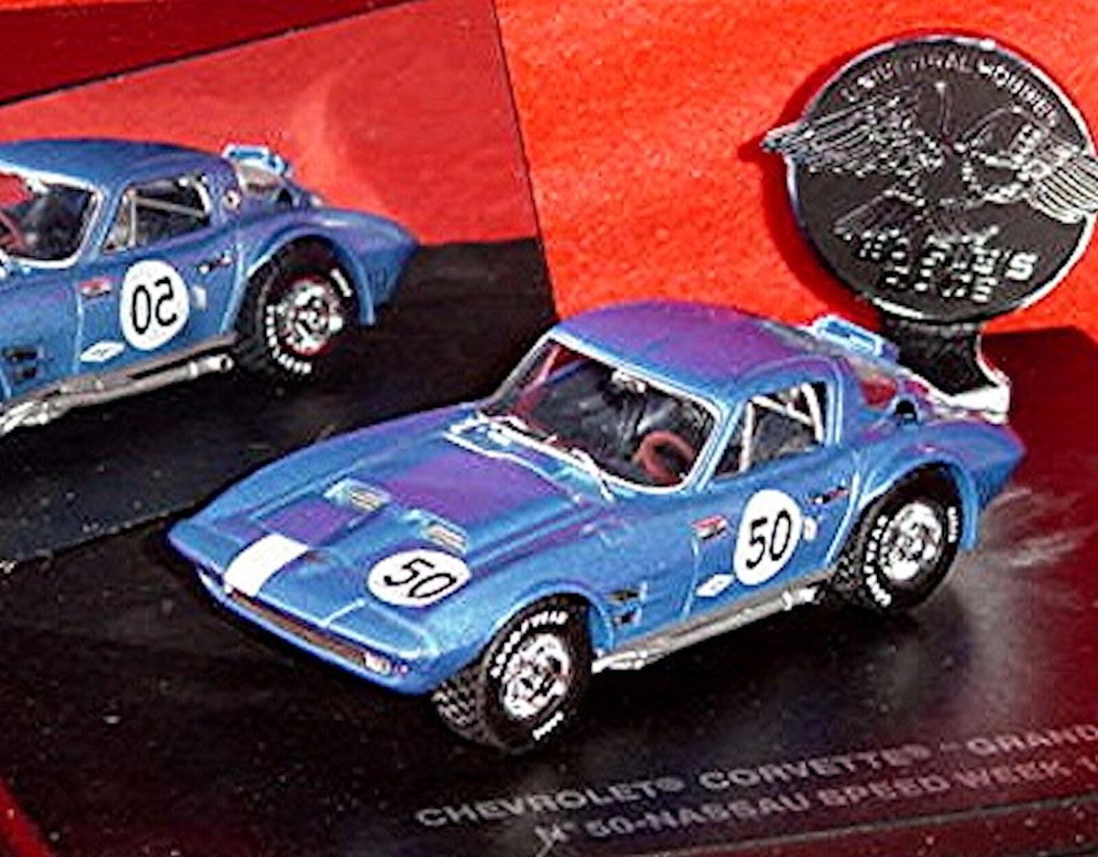 mejor marca Chevrolet Corvette Stingris Grand Deporte    50 Nassau 1963 Azul Azul 1 43 Eagle  comprar nuevo barato
