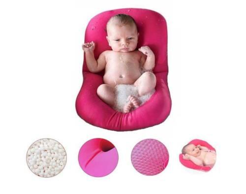 Baby Badewanne Kissen Anti-Slip Bad Kissen weiche Sitzbadewanne Unterstützung