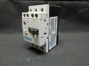 Siemens sirius 3r 3rv1011 0ga10 manual motor starter for Siemens manual motor starter